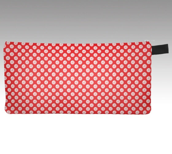 Polka Dot Pencil Pouch