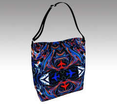 Mystic Airplanes Day Tote