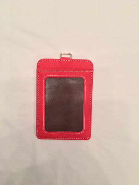 Leather ID Holder