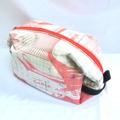 Cosmetic Bag and Travel Pouch - Airmail