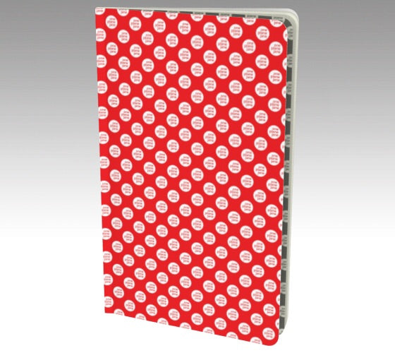 Notebook - Red Polka Dots