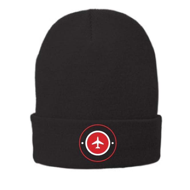 Fleece-lined Airplane Beanie