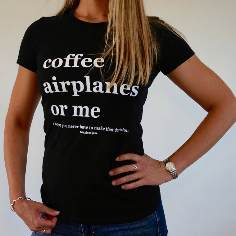 Aeronautical Decision Making - Women's Jersey Tee