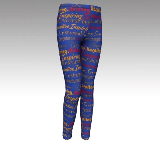 Beyond Beautiful Girls Leggings