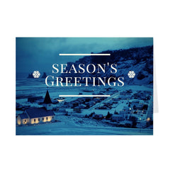 Season's Greetings Holiday Card