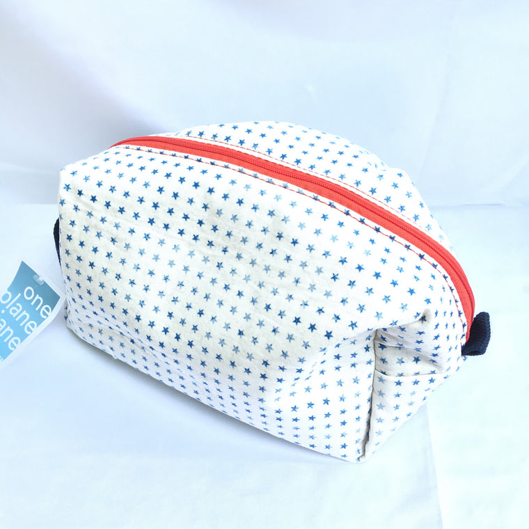 Cosmetic Bag & Travel Pouch - Patriotic Stars