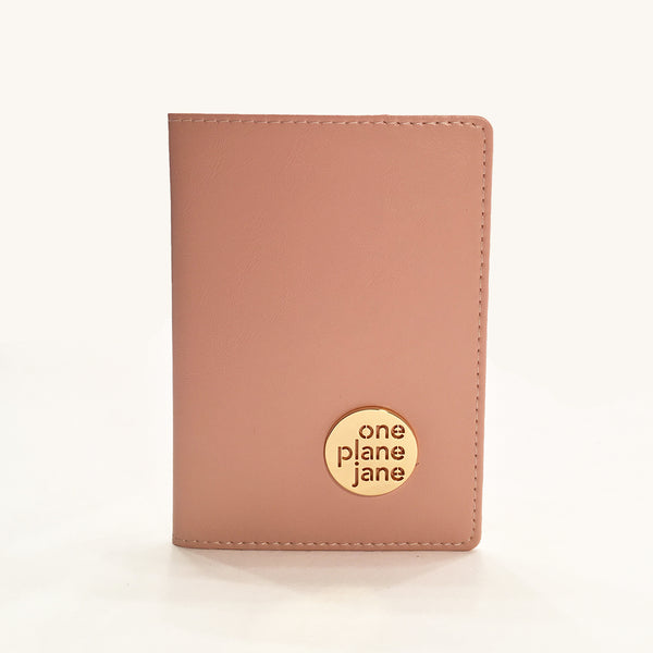 One Plane Jane Leather Passport Holder