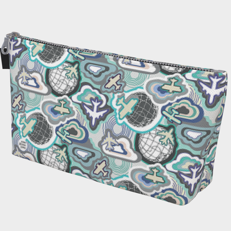 Fly Away With Me Airplane Makeup Bag