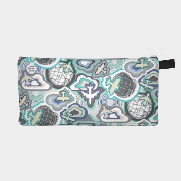 Fly Away With Me Airplane Pencil Pouch