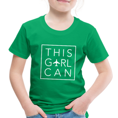 This Girl Can Toddler Tee - kelly green