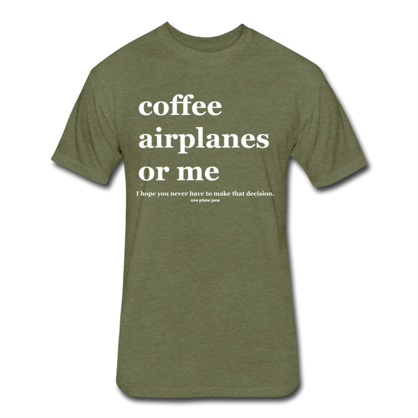Aeronautical Decision Making - heather military green