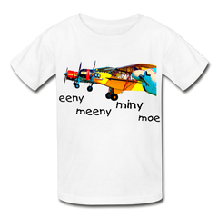 Eeny Hanes Youth Tagless T-Shirt - white