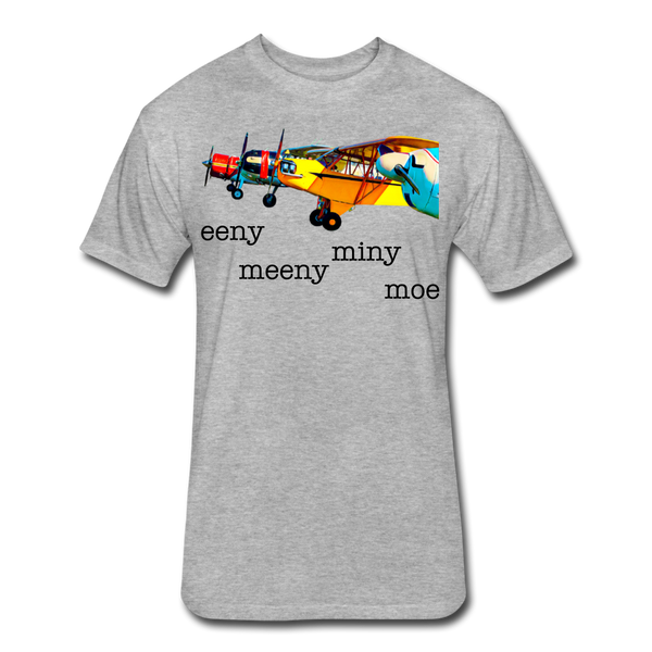 Eeny Meey Miny Moe - Unisex - heather gray