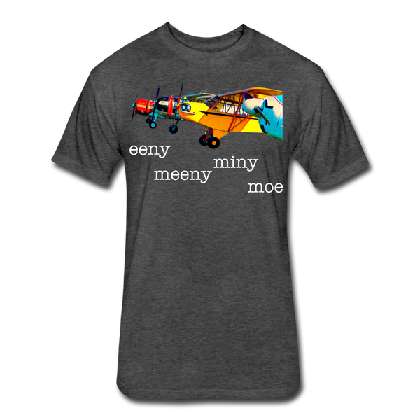 Eeny Meeny Miny Moe - Unisex Dark - heather black