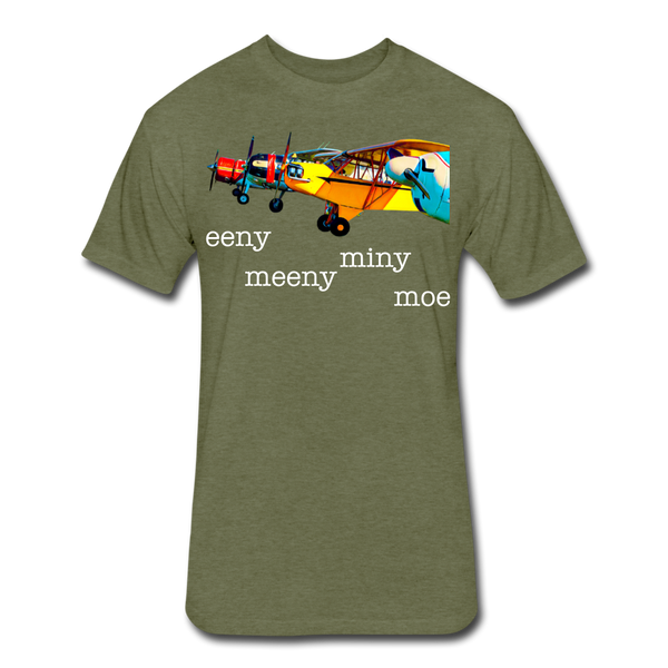 Eeny Meeny Miny Moe - Unisex Dark - heather military green