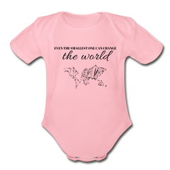 The Smallest One - Infant Onesie - light pink