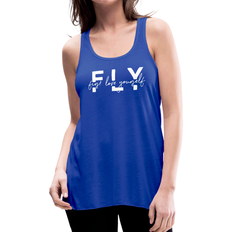 First Love Yourself - Flowy Tank