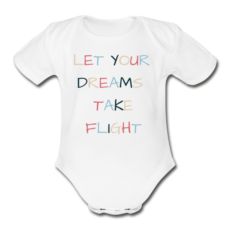 Dreams Take Flight - Organic Cotton Onesie