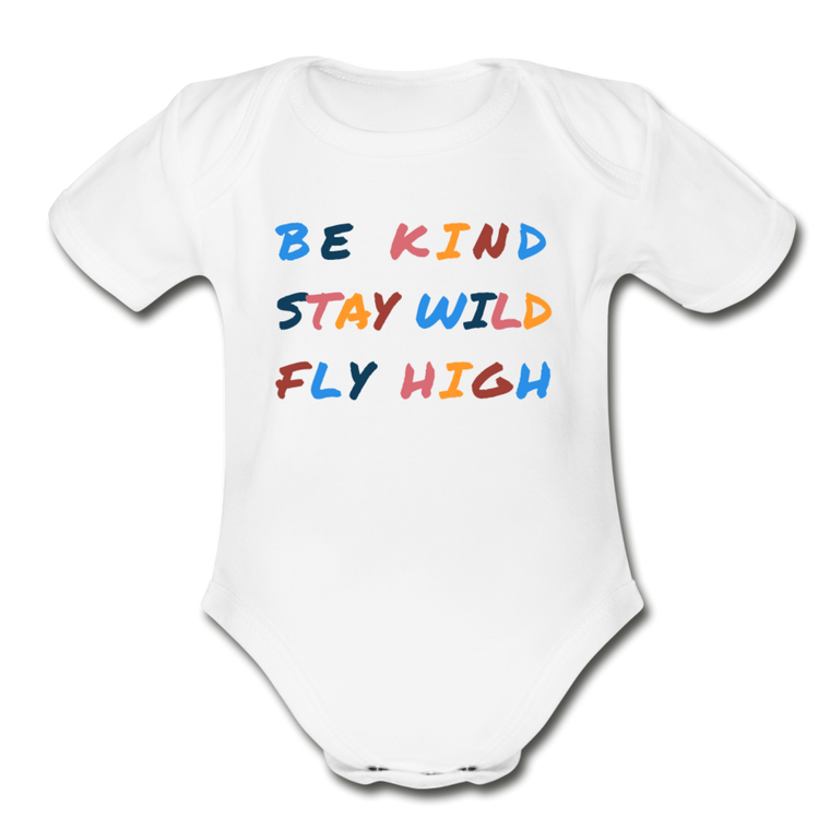 Kind, Wild, and Fly - Organic Cotton Onesie