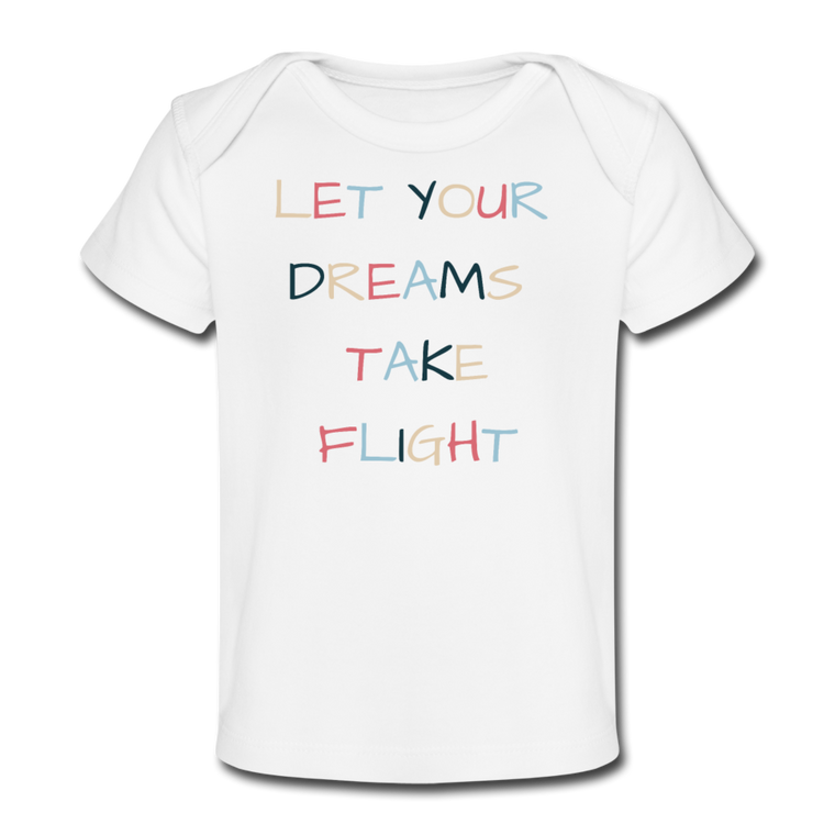 Let Your Dreams Take Flight Baby Tee