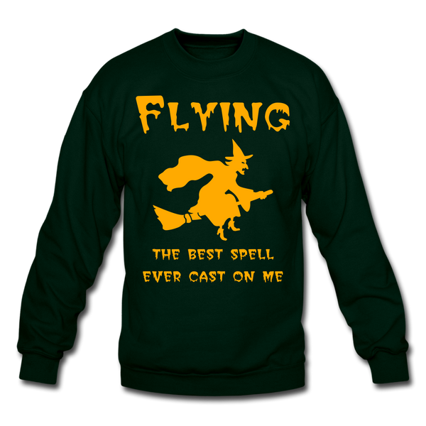 Flying Spell Sweatshirt - forest green