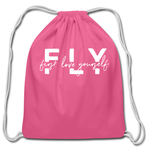 FLY Cotton Drawstring Bag - clover
