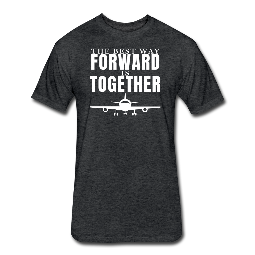 Forward Together - heather black