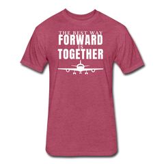 Forward Together - heather burgundy