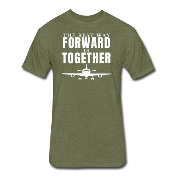 Forward Together - heather military green