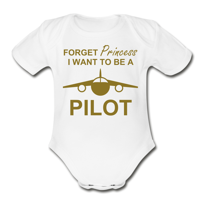 I Want to be a Pilot Onesie