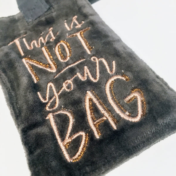 This is NOT your BAG Luggage Tag