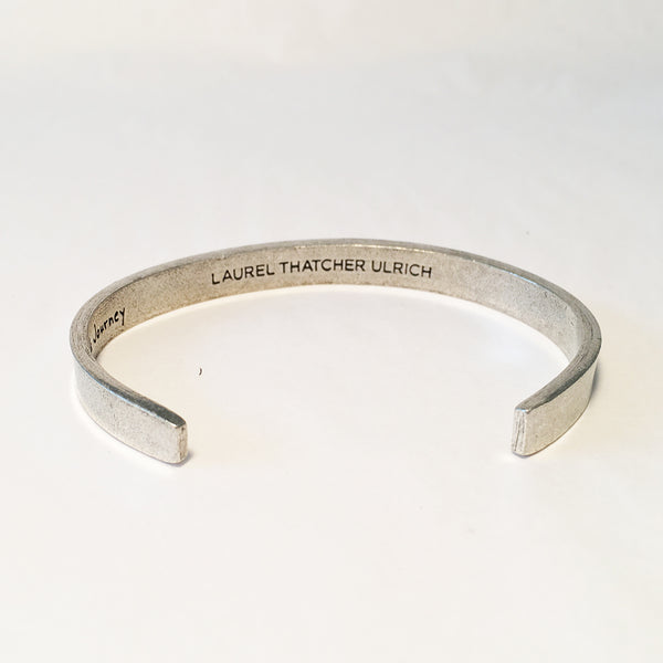 Well-Behaved Women Adjustable Cuff Bracelet