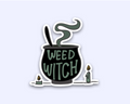 Weed Witch Smoking Cauldron