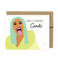 Birthday Cardi Card