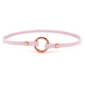 Restrained Grace Collar Baby Pink Delicate Ring of O Collar