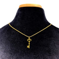 Restrained Grace Day Collar The Gold Filled Key Necklace