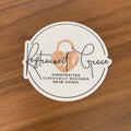 Restrained Grace Sticker Restrained Grace Emblem - 3