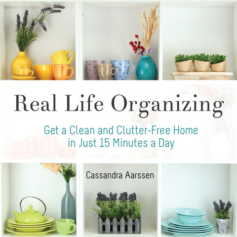 Real Life Organizing Planner Pages