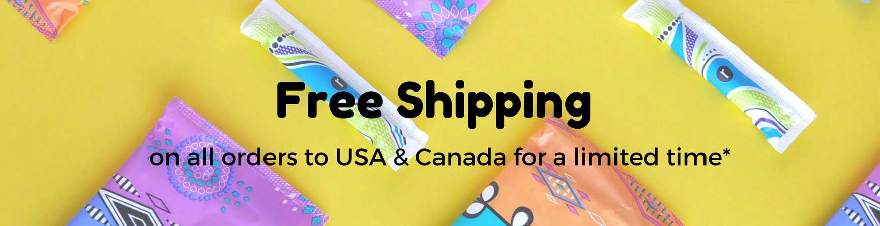 free shipping to usa and canada for a limited time