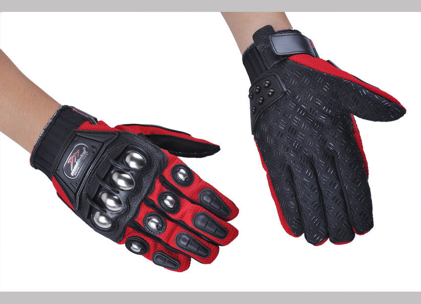 Full Finger Hard Knuckle Motorcylcle Gloves