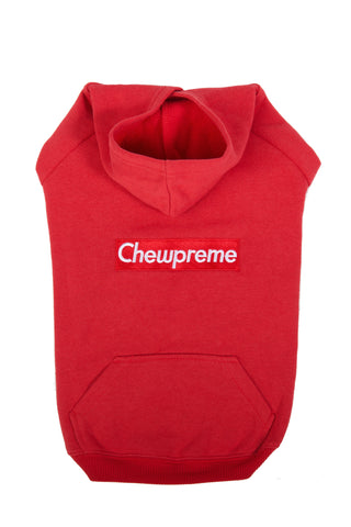 CLASSIC LOGO HOODIE RED