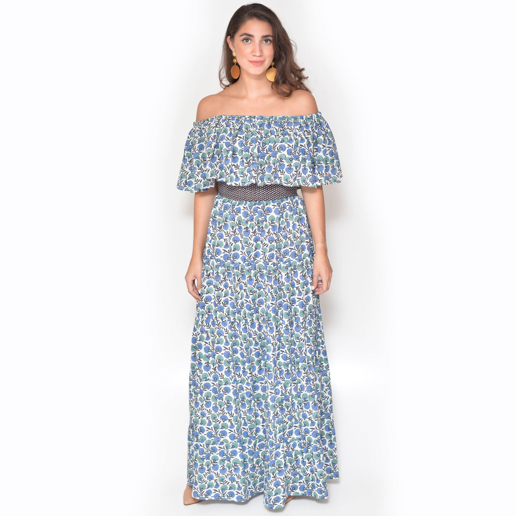 Ana Dress - Sea Breeze
