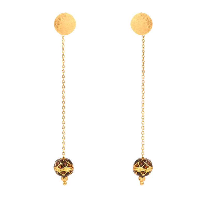 ZINDAGI Anjuli Caramel Earrings