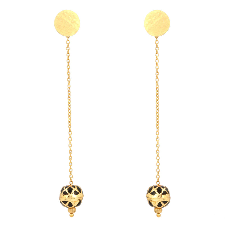 ZINDAGI Anjuli Caviar Earrings
