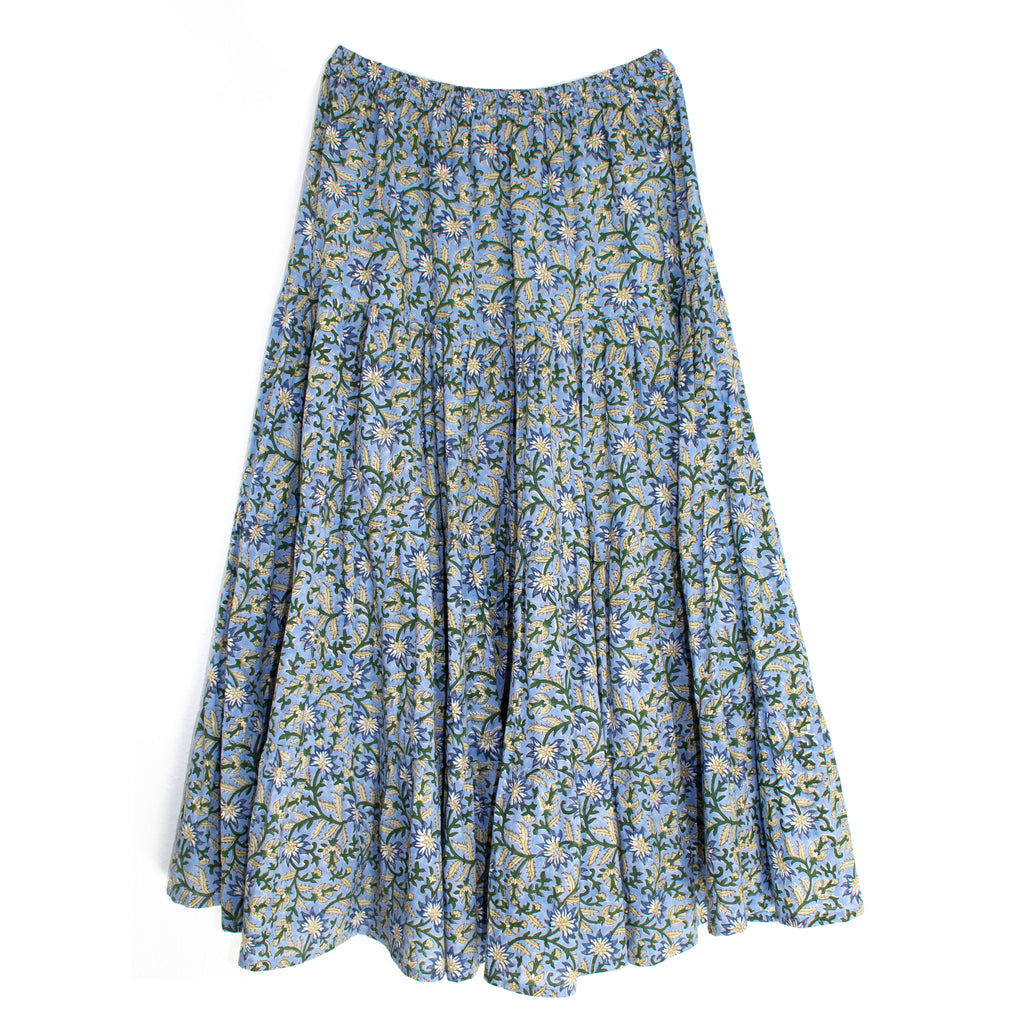 Irma Skirt | Blue Jaal