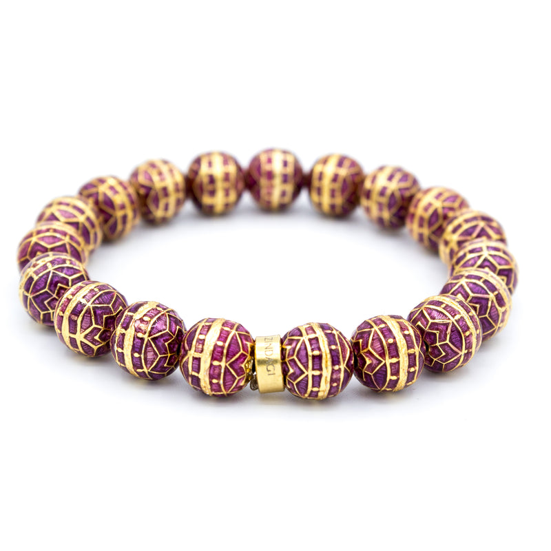 Faye Bracelet | Grape Mandala