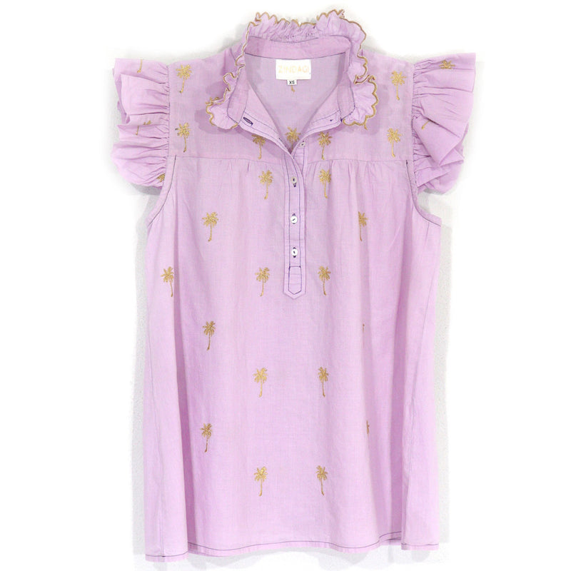 Grace Blouse | Lilac