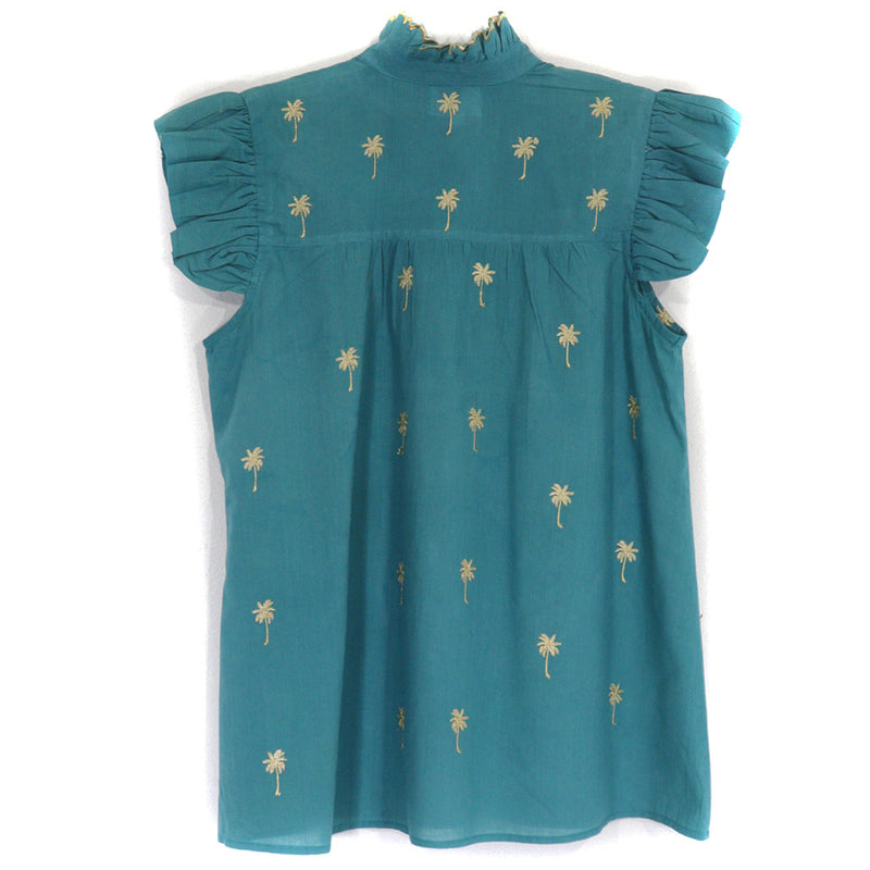 Grace Blouse | Teal