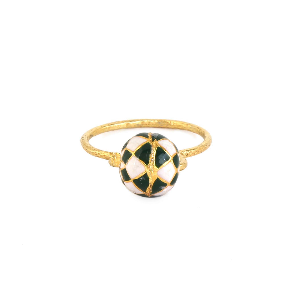 Erika Ring | Forest Checker | Sizes Available