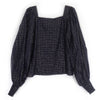 Jaspreet Blouse | Midnight Blue